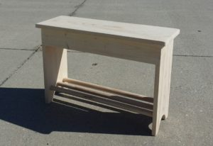 Entryway Bench – part3 (un)finished