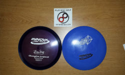 New disc golf discs
