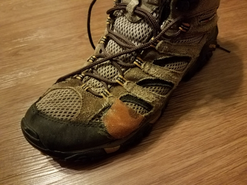 Boot with patch